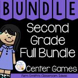 2nd Grade Go Math Year Long Center Games Bundle