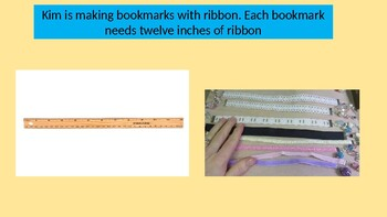 """2nd Grade Go math Exemplar Chapter 8 """" Making Bookmarks with Ribbon"""""""