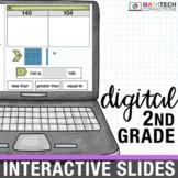 2nd Grade Google Classroom Math Activities | 2nd Grade Digital Math Centers