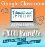 The ⭐ULTIMATE⭐ 2nd Grade Google Classroom Math Bundle⭐ Dis