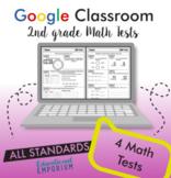 2nd Grade Math Tests for Google Classroom™ ⭐ Digital Math Assessments