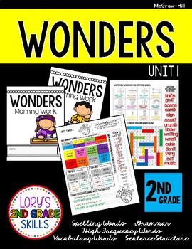 2nd Grade Grade WONDERS Morning Work Unit 1