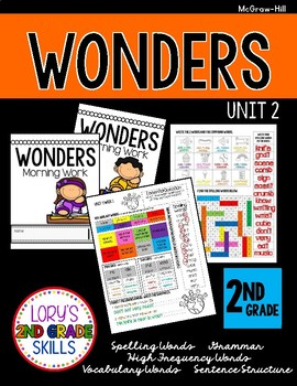 Morning Work 2nd Grade  WONDERS Unit 2