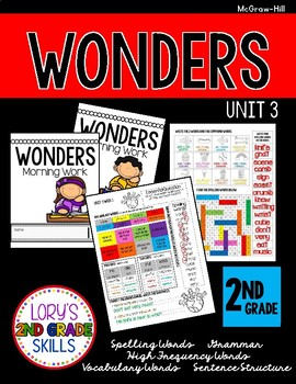 Morning Work 2nd Grade WONDERS Unit 3