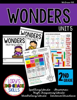 Morning Work 2nd Grade WONDERS Unit 5