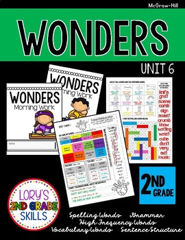 Morning Work 2nd Grade  WONDERS Unit 6