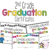 2nd Grade Graduation Certificates