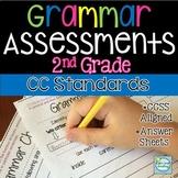 2nd Grade Grammar Assessments ~ CC Aligned Assessments 2nd Grade