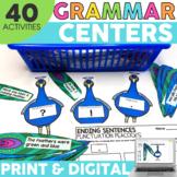 2nd Grade Grammar Centers