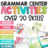 2nd Grade Grammar Center BUNDLE: Over 20 skills!