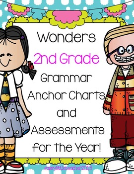 2nd Grade Grammar Charts and Assessments for the Year