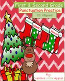 ***SALE***December - 1st/2nd Grade - Punctuation Practice - NO PREP {CC.Aligned}
