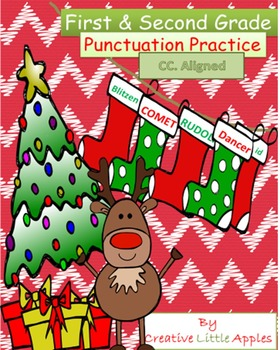 December - 1st/2nd Grade - Punctuation Practice - NO PREP