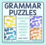 Grammar Matching Puzzles Bundle