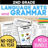 2nd Grade Grammar Practice Sheets Bundle (Common Core or Not)