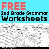2nd Grade Language Arts and Grammar Practice Sheets Freebi