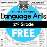 2nd Grade Grammar Practice Sheets Freebie (Common Core or Not)
