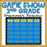 2nd Grade Grammar Review Game Show EDITABLE