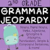 2nd Grade Grammar Review JEOPARDY!