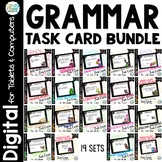 2nd Grade Grammar Task Card Bundle for Google Classroom Us