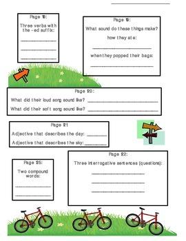 2nd Grade Grammar/Text Hunts for Scott Foresman Reading