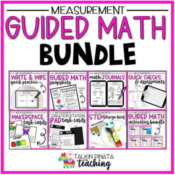 Guided Math Bundle {2nd Grade Measurement}