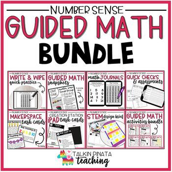 BUNDLE Second Grade Guided Math Number Sense Unit