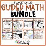 BUNDLE Second Grade Guided Math Place Value Unit