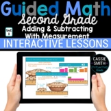 2nd Grade Math Add Subtract Measurement 2.MD.4 2.MD.5 2.MD.9 -Google Classroom