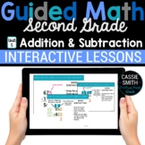2nd Grade Guided Math -Google Classroom Unit 5 Addition an