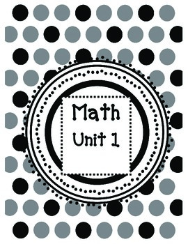2nd Grade Guided Math Lessons-Everyday Math Unit 1 and 2