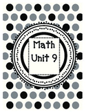 2nd Grade Guided Math Lessons Everyday Math Unit 9 and 10
