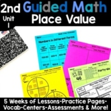 2nd Grade Guided Math -Unit 1 Place Value