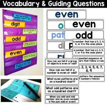 2nd Grade Guided Math -Unit 2 Even & Odd