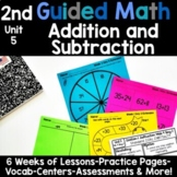 2nd Grade Guided Math -Unit 5 Addition and Subtraction