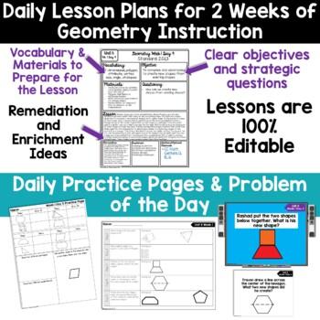 2nd Grade Guided Math -Unit 6 Geometry