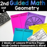 2nd Grade Guided Math -Unit 6 Geometry