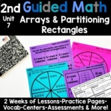 2nd Grade Guided Math -Unit 7 Arrays and Partitioning Rectangles