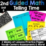 2nd Grade Guided Math -Unit 8 Time