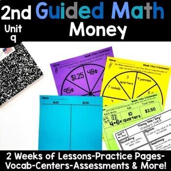 2nd Grade Guided Math -Unit 9 Money