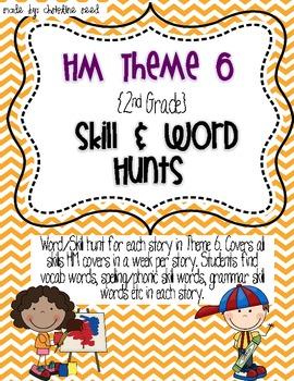 2nd Grade HM Story Skill & Vocabulary Hunts Th 6