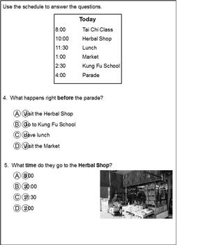 2nd Grade HM Theme 3 Packets and Standardized Tests