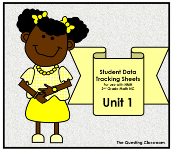 2nd Grade HMH Math NC: Unit 1- Numbers to 20 & Data: Student Data Tracking Sheet