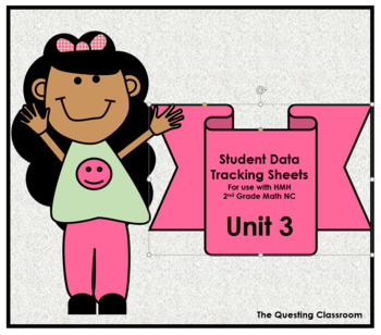 2nd Grade HMH Math NC: Unit 3- Money & Time: Student Data Tracking Sheet