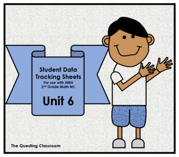 2nd Grade HMH Math NC: Unit 6- Measurement & Length: Student Data Tracking Sheet