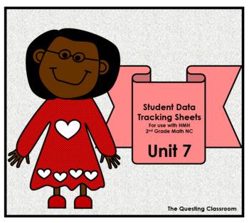 2nd Grade HMH Math NC: Unit 7- Geometry & Fractions: Student Data Tracking Sheet