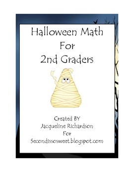 2nd Grade Halloween Math Centers