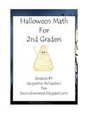 2nd Grade Halloween Math Centers