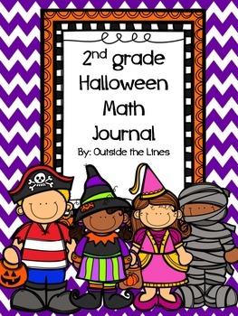 2nd Grade Halloween Math Journal
