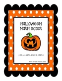 2nd Grade Halloween Math Scoot
